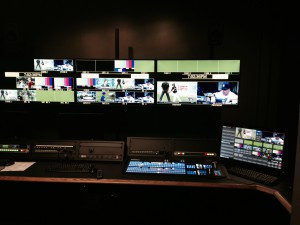 Control Room A will be used for SEC Network and streaming shows.