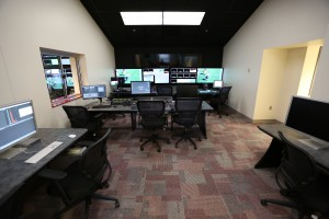 HuskerVision built an auxiliary control room to program the new in-venue video offerings.