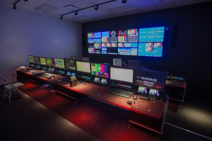 RazorVision invested in construction of three control rooms. The two chief control rooms are identical and feature a bevy of high-end gear.