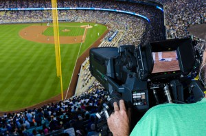 Four of Mira Mobile's six cameras on Dodgers telecasts are outfitted with FUJINON XA99x8.4 ultra-wide field lenses.