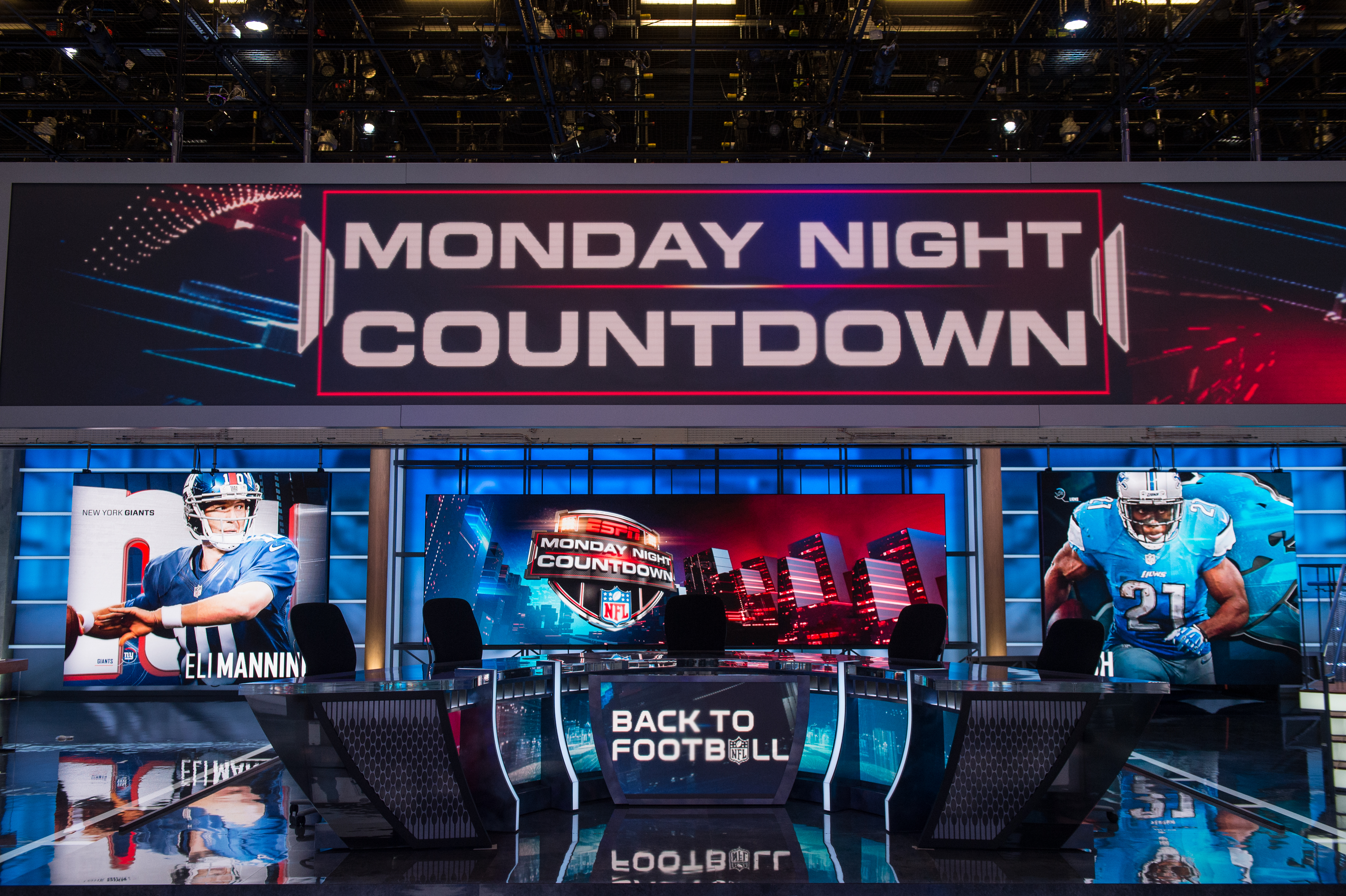 Espn Pulls Back Curtain On Largest Studio To Date Gears