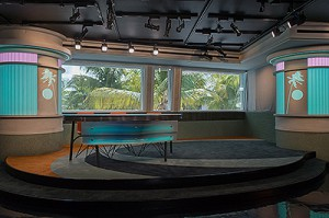 ESPN2's Highly Questionable and ESPN Radio's The Dan Le Batard Show have new studio homes in Miami Beach's Clevelander Hotel.