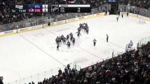 Altitude Sports will debut a new graphics and animations package for the Avalanche home opener against the Minnesota Wild.