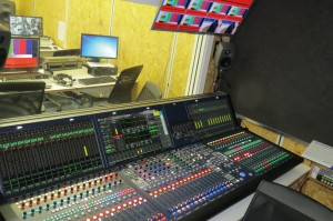 Fox Sports Brazil deploys Lawo's Nova73 HD, which serves as the central audio router, a 48-fader mc²56 MKII console and two further mc²56 MKII consoles with 32 faders each.