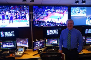 NBA Entertainment's Steve Hellmuth helped lead the tech charge in building the new Replay Center.