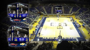 Daktronics will design and install a new centerhung scoreboard at The United States Naval Academy's Alumni Hall.