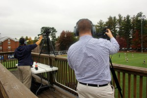 SNHU's video team used three HD cameras and additional robotics during live shows.