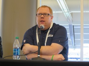 Seattle Seahawks' Kenton Olson describes his team's approach to mobile video.