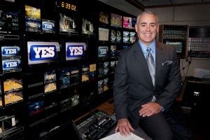 YES Network's Frank DiGraci produced his 1,000th Nets telecast last season and shows no sign of slowing down. (Photo: Ellen Wallop/YES Network)