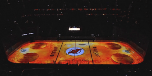 VIDEO: Watch the new 3D intro that takes place prior to each New Jersey Devils home game at the Prudential Center.