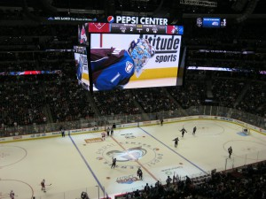 Pepsi Center got not only a state-of-the-art scoreboard in 2013 but an entirely new audio system as well.