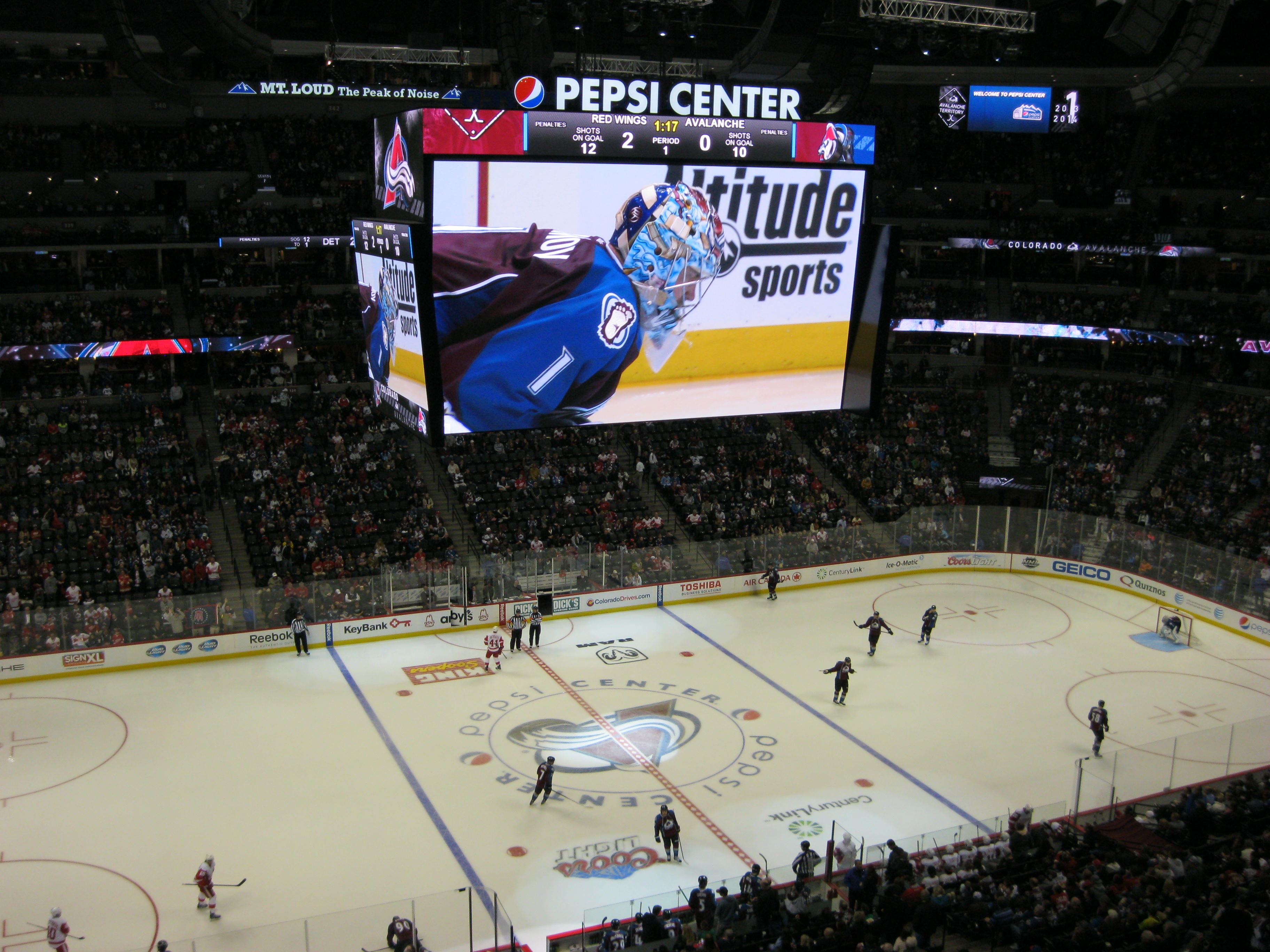 Pepsi Center: Tech Focus, Part 2: Five Sports Venues Show Off Their Sound