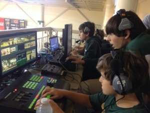 Students have become major content creators. More than half of events aired on NFHS Network are produced by students.