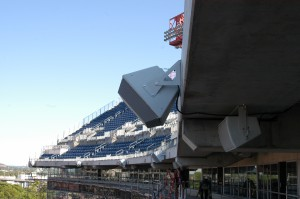 New weather-resistant loudspeakers deliver coverage to difficult areas of LP Field.