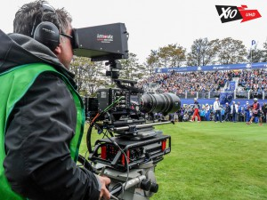 4K ultra-motion replays for Sky SPorts' Ryder Cup coverage were provided by the I-MOVIX X10 UHD.