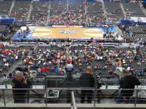 Nearly 40 cameras covered AT&T Stadium, the most cameras ever for a Final Four.