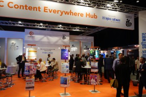 The Content Everywhere Hub is at the centre of information and knowledge exchange at Content Everywhere MENA in Dubai.