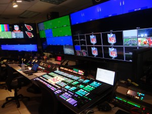 Inside the Cardinals' revamped control room, which is anchored by a Ross Acuity switcher.