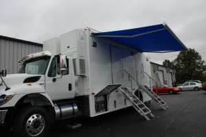 Tv Pro Gear Delivers 35 Foot Truck To Trinidad