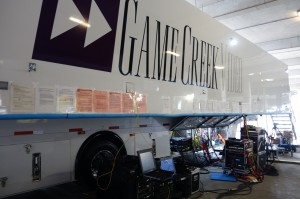 Two Game Creek Video production units, Larkspur and Gemini, played key roles at Sundance Square for ESPN.