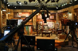 """The """"Western Set"""" at Sundance Square has been handy during cold, dark mornings."""