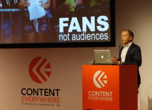 Stephen Nuttall, YouTube, EMEA, senior director, says that YouTube's success is not due to viewers but fans.