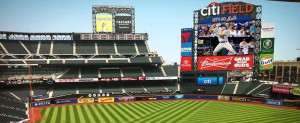 A new centerfield video display at Citi Field will measure 5,670 square feet - up from 3,500 square feet on the previous board.