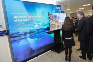 The SES Ultra High Definition conference in London