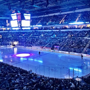 The Winnipeg Jets at the MTS Centre