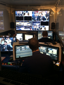 Monmouth Athletics is producing live events for ESPN3 for its new 22-foot production trailer.