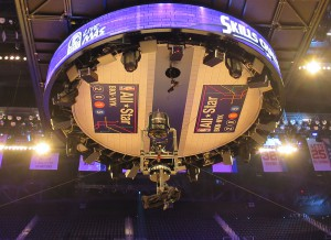 Turner Sports will have more freedom to use the Spidercam during NBA All-Star Saturday Night than in a typical game.