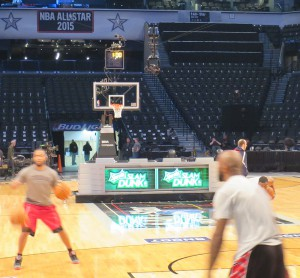 Turner Sports previously deployed SpiderCam during NBA All-Star Saturday Night at Barclays Center in Brooklyn.