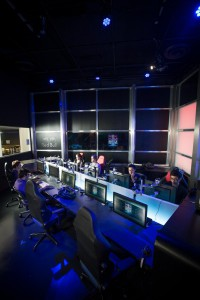 Teams face off at the Red Bull eSports Center while millions can watch online.