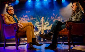 Geddy Lee is interviewed by Michael Chabon on Speakeasy, which aired on January 29th.