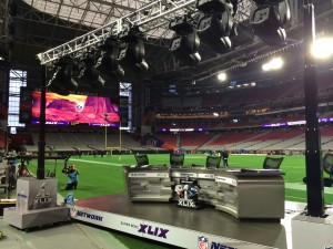 Filmwerks provided NFL Network with its on-field set for pregame and postgame coverage.