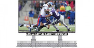 Kansas State has partnered with Daktronics to install a new main video display and ribbon displays for Bill Snyder Family Football Stadium.