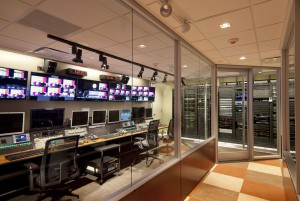 The WWE transmission room