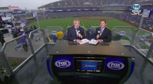 Fox Sports Kansas City is one of three regional networks to build a new in-stadium pre/postgame set for the 2015 season.
