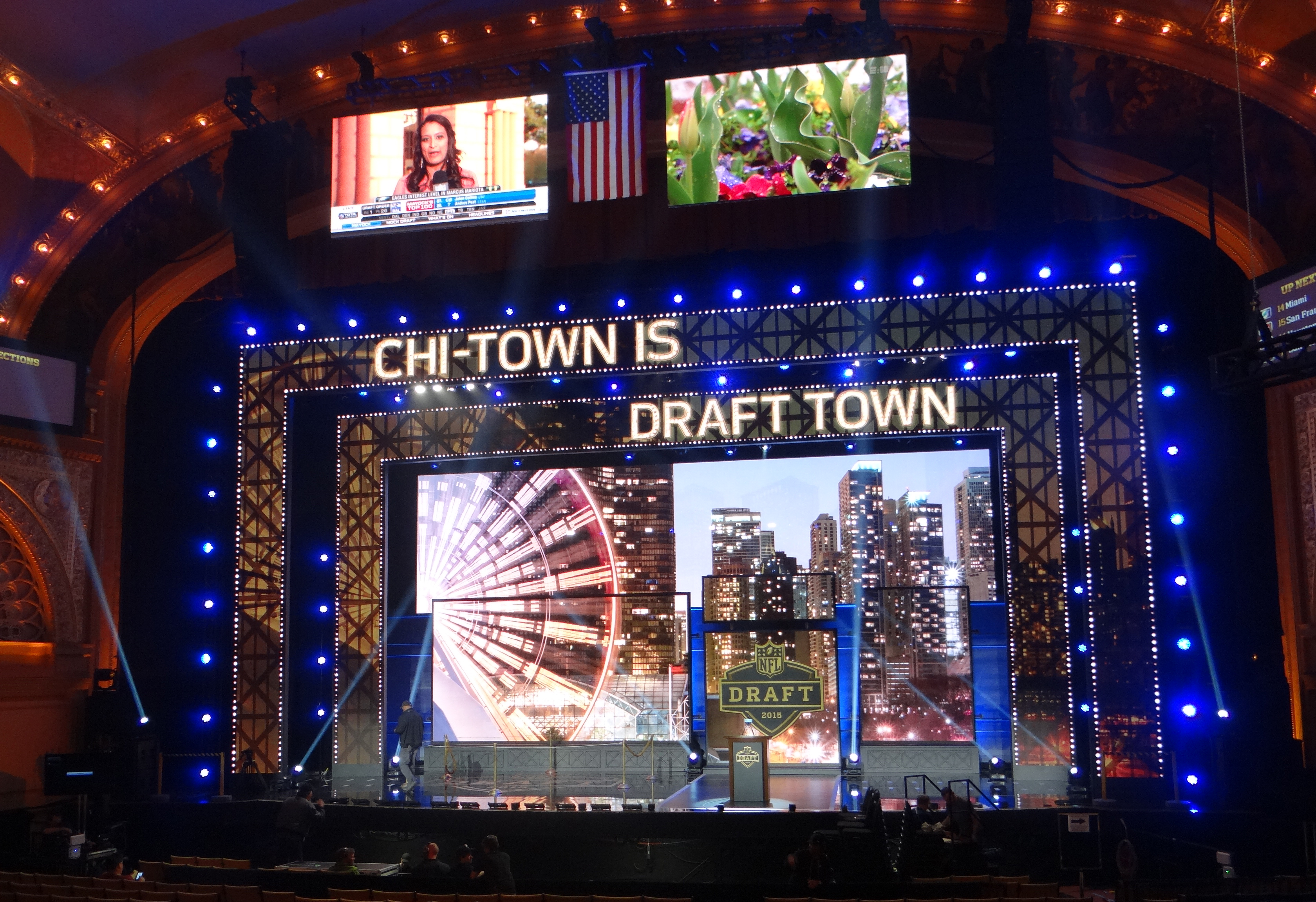 Live From the NFL Draft  NFL Network Covers Sprawling Footprint in ... 133f363428c
