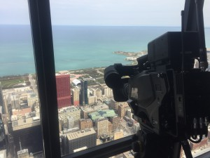 AVS's RF camera transmitted from the Henry Tower