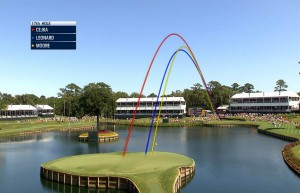 The new ProTracer application in action for NBC and Golf Channel.