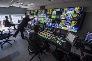 The Jacksonville Jaguars' new control room houses an elaborate mix of gear from Abekas, Ross Video, Evertz, and other suppliers.