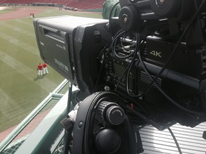 Two Sony F55 6X cameras have been integrated with NESN's existing production infrastructure.