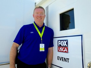 Brad Cheney of Fox Sports played a key role in overseeing the technical planning and operations for U.S. Open coverage this weekend.