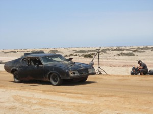 Sound Devices' 7-Series proved vital in high-speed production  across the hot, sandy landscape of Namibia.