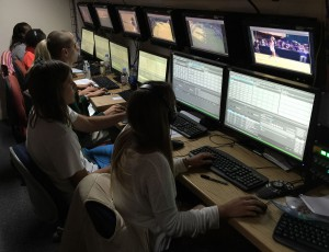 The Wimbledon production room