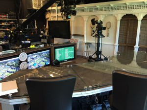 ESPN's set on hand at Wimbledon