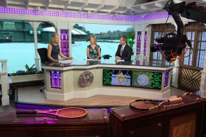ESPN's primary set at AELTC