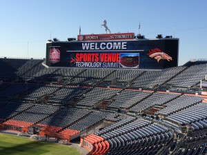 Sports Authority Field at Mile High in Denver served as host to the SVG Sports Venue Technology Summit on July 23.