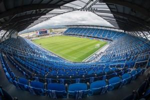 Connection to the cloud allows technology to be easily upgraded at Avaya Stadium.